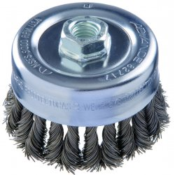"Advance Brush - 82431 - 3-1/2""combitwist Knot Cup Brush .020 Ss Wire"