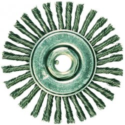"""Advance Brush - 82477 - 6"""" Full Cable Knot Wheel24 Knot .023 Cs Wire"""