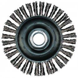 """Advance Brush - 82487 - 6"""" Stringer Bead Knot Wheel .020 Cs Wire"""