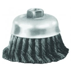 "Advance Brush - 82545 - 6"" Knot Wire Cup Brush .014 Cs Wire"