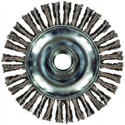 "Advance Brush - 82700 - 6-7/8"" Combitwist Stringer Bead Wheel .020 Cs Wi"