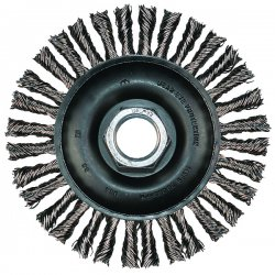 "Advance Brush - 82759 - 4-7/8"" Combitwist Stringer Bead Wheel .020 Ss Wi"