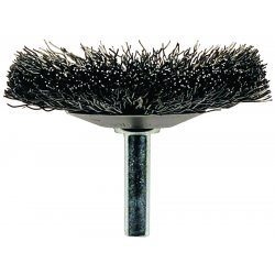 "Advance Brush - 82876 - 3"" Mounted Flared Cup Brush .006 Ss"