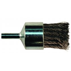 "Advance Brush - 83140 - 1"" Knot Wire End Brush Straight Cup .020 Cs Wire"