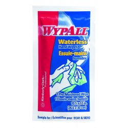 Kimberly-Clark - 91054 - WYPALL Waterless Cleaning Wipes, KIMBERLY-CLARK PROFESSIONAL Waterless Cleaning Wipes (Case of 100)