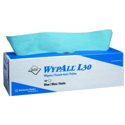 Kimberly-Clark - 05810 - Wypall L30 Economizer Wipers Blue 8 Boxes/case