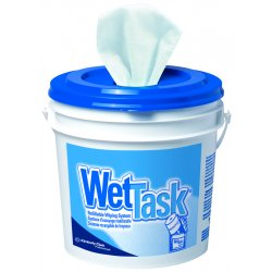Kimberly-Clark - 06001 - Wettask 06001 Refillable Wiping System, Wipe Refills, Use with Standard Solvents