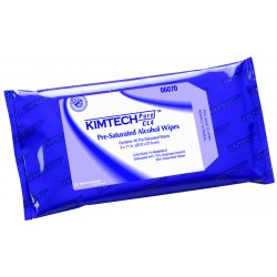 "Kimberly-Clark - 06070 - Clean Room Wipes, 9"" x 11"", 40 Wipes per Container, 400 PK"