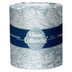 "Kimberly-Clark - 17713 - Kleenex 4.5""x40' Standard White Bathroom Tissue"