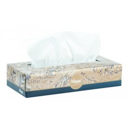 Kimberly-Clark - 21400 - Kimberly-Clark Facial Tissue With Pop-Up Dispenser - 2 Ply - Gray - 100 Sheets Per Box