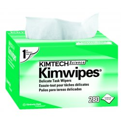 Kimberly-Clark - 34120 - White LWC (Light Weight Crepe) Wiper, Number of Sheets 280