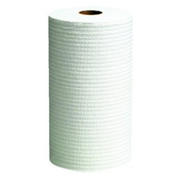 Kimberly-Clark - 35401 - White Hydroknit(R) Wypall Wiper Rolls, Number of Sheets 130, Package Quantity 12