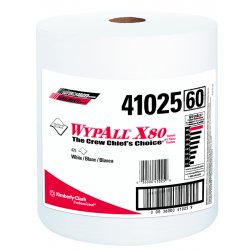 Kimberly-Clark - 41025 - White Hydroknit(R) Wypall Wiper Rolls, Number of Sheets 475
