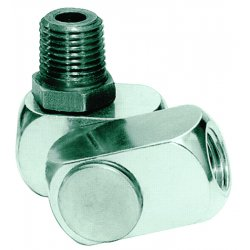 Dynabrade - 95460 - Aluminum Swivel Connector with (M)NPT x (F)NPT Hose Connection