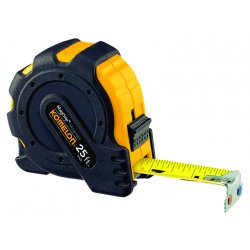 "Komelon - 7425 - 1""x25' MAG GRIP MAGNETICHOOK TAPE MEASURE, EA"