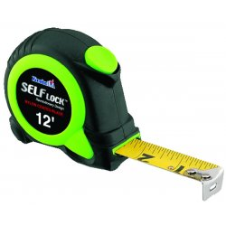 Komelon - SL2812 - 12' Self Lock- Self-locking Tape Measure