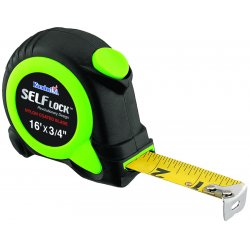 Komelon - SL2816 - 16' Self Lock- Self-locking Tape Measure