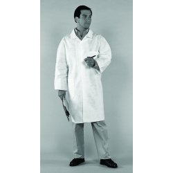 Kimberly-Clark - 10029 - Kimberly-Clark Professional* Large White KleenGuard* A20 SMS Disposable Breathable Particle Protection Lab Coat/Lab Jacket