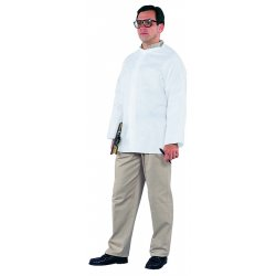 Kimberly-Clark - 36213 - Kimberly-Clark Professional* Large White KleenGuard* A20 SMS Disposable Breathable Particle Protection Shirt