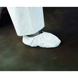 "Kimberly-Clark - 36885 - Universal Shoe Covers, Slip Resistant Sole: No, Waterproof: No, 6-1/2"" Height"