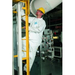 Kimberly-Clark - 44302 - Disposable Coveralls with Open Cuff, White, M, Microporous Film Laminate