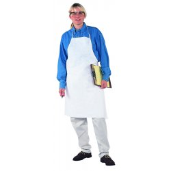 Kimberly-Clark - 44481 - Disposable Apron, White, 40 Length, 28 Width, Microporous Film Laminate Material, PK, 100