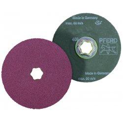 Pferd - 40093 - PFERD 40093 Combiclick Fiber Disc; 4-1/2 Inch, Grit 50, ...