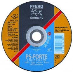 Pferd - 61004 - 7 X 1/4 X 7/8 T27 Gw A24l Psf-inox
