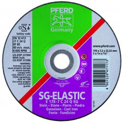 Pferd - 61502 - 5 X 1/4 X 7/8 T27 Gw C24q Sg