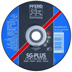 Pferd - 61557 - 9 X 1/4 X 7/8 T27 Gw Za24 R Sgp