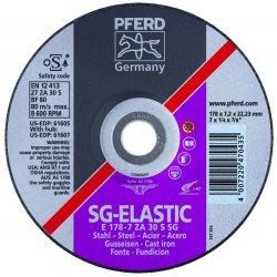 Pferd - 61614 - 5 X 1/4 X 5/8-11 T27 Gwza 30s Sg
