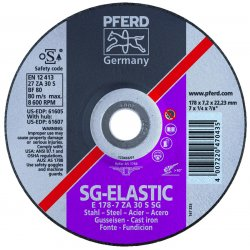 Pferd - 61616 - 6 X 1/4 X 5/8-11 T27 Gwza 30s Sg