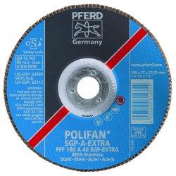 Pferd - 62105 - 7x5/8-11 Flap Disc Conical Sg Al Oxide 80 Gr