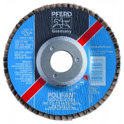 Pferd - 62675 - 4-1/2 X 5/8-11 Polifan Sgp Co-cool Conical 40g