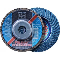 "Pferd - 62945 - 4-1/2"" Flap Disc, Type 29, Zirconia Alumina, 36 Grit, 7/8"" Mounting Size, Strong"