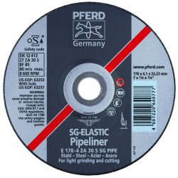 Pferd - 63255 - 4-1/2 X 1/8 X 5/8-11 T27ppl Whl 4.1mm Za30 S