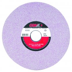 CGW Abrasives - 34214 - 8x1/2x1-1/4 T1 As3-46-k-vcer Surface Grind. Whee, Ea