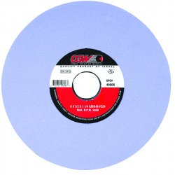 CGW Abrasives - 34350 - 8x1/2x1-1/4 T1 Az46-h8-v32a Surface Grind. Wheel, Ea