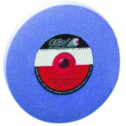 CGW Abrasives - 34489 - 14X2X5 (R/2-8X3/8) AZ46-J8-V32A AZ Premium Blue, EA
