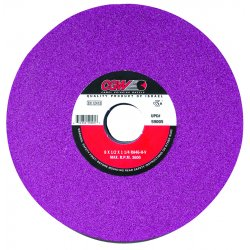 "CGW Abrasives - 34634 - 7x1/2x1-1/4"" T1 Ra46-j/k-v Surface Grind. Wheel, Ea"