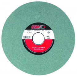 "CGW Abrasives - 34703 - 8x1x1-1/4"" Type 5 Greensilicon Carbide Surface, Ea"