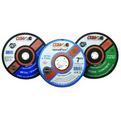 """CGW Abrasives - 35574 - 7""""x3/32""""x5/8"""" C24-rbf Circ Saw Bld, Ea"""