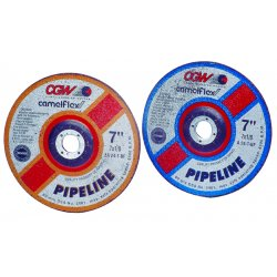 CGW Abrasives - 35662 - 9x1/8x7/8 A24-r-bf Pipeline Steel Dp Ct Whl, Ea