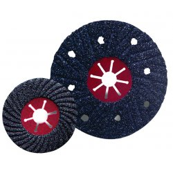 "CGW Abrasives - 35835 - 4-1/2"" C-36 Silicon Carbide Semi-flex Snd Disc, Ea"