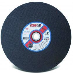 CGW Abrasives - 36233 - 14 X 1/8 X 1 A24-q-bf Fast Cut Ty1 Cut-off Whls