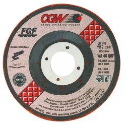 CGW Abrasives - 36265 - 4-1/2x1/8x7/8- T27- Wa46-q-bf- Steel