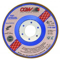 CGW Abrasives - 36278 - 5x1/8x5/8-11- T29- A60-r-bf- Steel