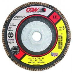 CGW Abrasives - 36326 - Xxl Z3 Flap Disc- T29- 60 Grit