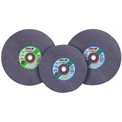 CGW Abrasives - 37672 - 14x3/16x1+ph C24-r-bf Con C-o Bld, Ea