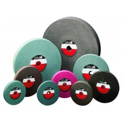 CGW Abrasives - 38017 - 7x1x1 A36-o-v Bench Wheel 1 Pk